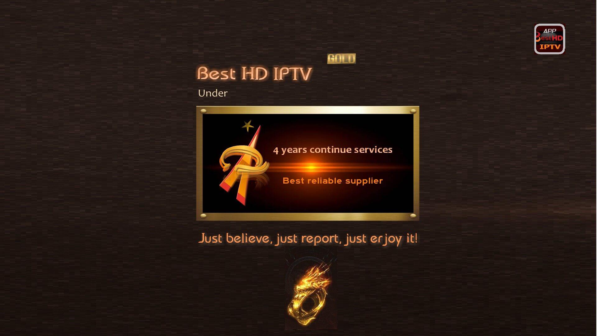 BEST HD IPTV GOLD
